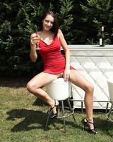 Premium Felicia Kiss in amateur lesbian scenes along skinny babe