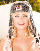 Hot blonde chick Ivana Sugar loses her mad bomber cap while fucking a BBC