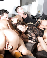 Sluts in heats sharing cocks in crazy forusome XXX scenes