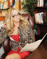 Experienced Julia Ann inspects a guy who wants to become rich woman's lover