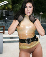 Hot Asian chick London Keyes gets used by Mark Davis in a hardcore scene