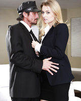 Blonde female Natalia Starr feels the need to fuck a father figure