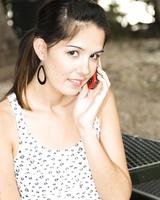 Teen girl Natalie Star drips her new boyfriend's jizz from her chin after sex
