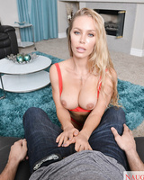 Blonde chick Nicole Aniston gets fucked in a Virtual Reality environment