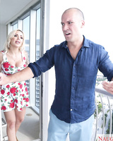 Banging Nina Elle in multiple positions after an argument with her husband
