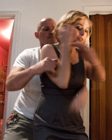 Mark Davis takes a revenge on Penny Pax by tying her up and fucking