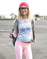 Innocent blonde schoolgirl Piper Perri is all tease on walk home from school