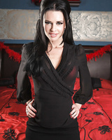 45-year-old pornstar Veronica Avluv strips in the most exciting photo set