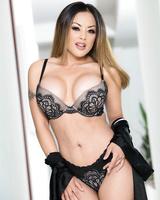 Kaylani Lei enjoys taking it deep in her Asian snatch