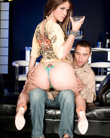 Latina MILF with a big booty Miss Raquel has her asshole fingered and fucked