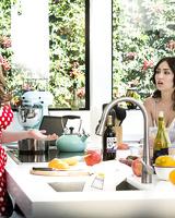 Jade Baker , Lena Paul in Cooking Show Conundrum (Twistys)