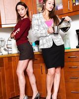 Amber Rayne, Dani Daniels lesbian - Karup's Hometown Amateurs