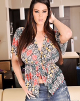 Big titted beauty Alison Tyler is with her mouth and pussy hole on the long hard stick