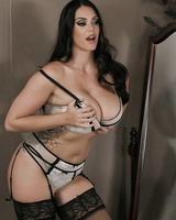 Alison Tyler gets fucked /in hardcore fashion while wearing black stockings
