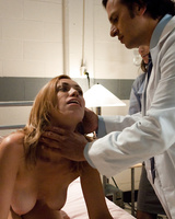 Naughty nurses Amber Rayne & Audrey Rose in an anal threesome with a doctor