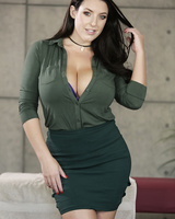 Curvy Angela White and Lena Paul are ready to turn guys on as well as girls