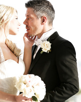 Hot blonde Anikka Albrite consummates her marriage vows after getting married