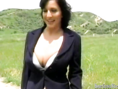 Awesome slut Cynthia Pendragon fucks huge hard cock