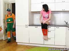 Dasha needs work on her plumbing