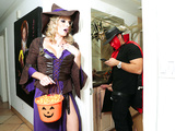 Halloweeny - Naked Cory Chase In the porn scene