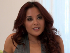 Horny Kaylani Lei gets her Asian cunt fucked hard and deep