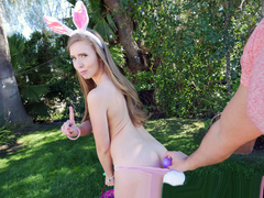 Lena Paul In the porn scene - Easter Sexy Bunny Hunny