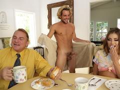 Adriana Chechik seduces her new stepbro Tyler