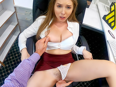 Lena Paul In the porn scene - Overtime at Work With My Horny Boss