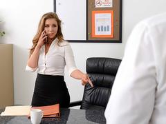 Lena Paul In the porn scene - My Boss is so Horny