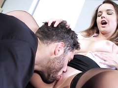Unexpected sex is much more important than work for Dillion Harper