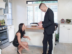Awesome Adriana Chechik cheats on husband sucking his friend's cock
