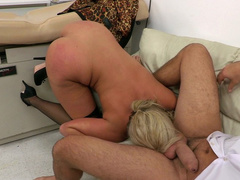Stepmom Phoenix Marie thanks stepson with rimming for being a good boy