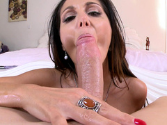 Gorgeous mom Ava Addams deserves to be called a queen of blowjob