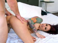 Stepmom Monique Alexander turns ass and guy fucks her from behind