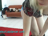 Czech chick lapdancing followed by BJ