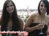 Dana and Kamilla - horny lesbian brunettes from Prague