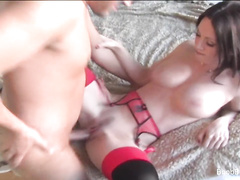 Awesome MILF wants her big tits fucked and creamed
