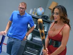 Managing Her Anger Starring Ariella Ferrera - Brazzers HD
