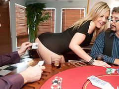 Manuel Ferrara fuck Alexis Texas in the poker game