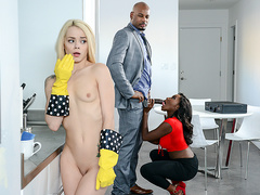 Our Little White Plaything with Elsa Jean and Osa Lovely