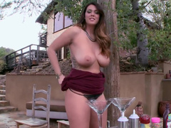 Having fun with Alison Tyler huge natural tits