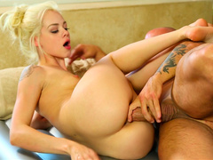 Elsa Jean shaved pussy - Long overdue