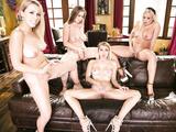 Sexy Babe Lena Paul - The Big ultra-wet lesbian orgy