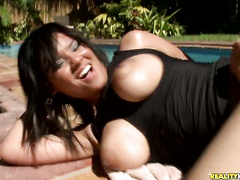 Busty Mehca takes intense pussy fuck from Jmac dick