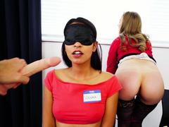Mofos - Girls Gone Pink - (Lena Paul, Riley Star) - Dildo Focus Group Starts