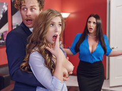 Brazzers - Porn Logic - Angela White & Lena Paul Porn
