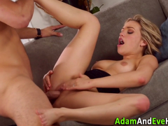 Sexy couple Mia Malkova and Danny Mountain fucking