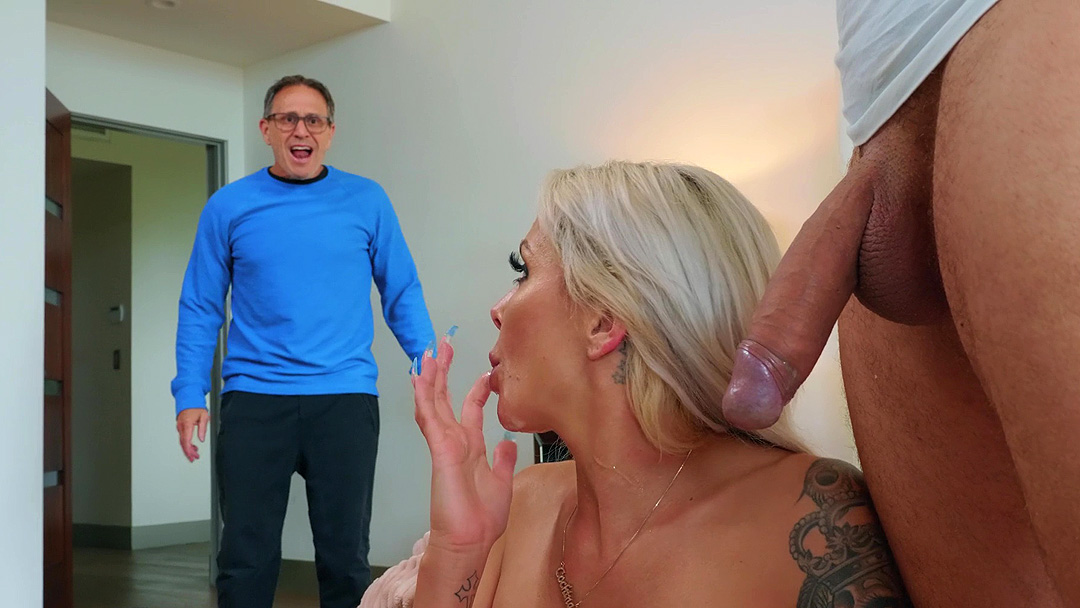 Hot married milf cheats on her husband