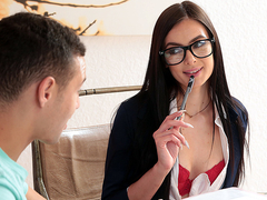 Stay Focused! Marley Brinx and Johnny The Kid - Brazzers HD