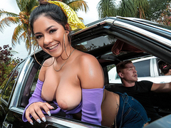 Low Ride Her Starring Serena Santos - Reality Kings HD
